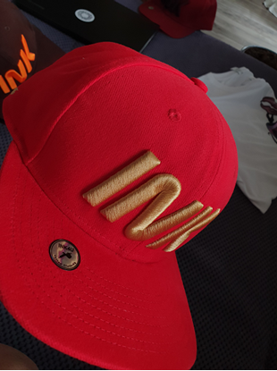 Obrazek  Snapback RED INK GOLD